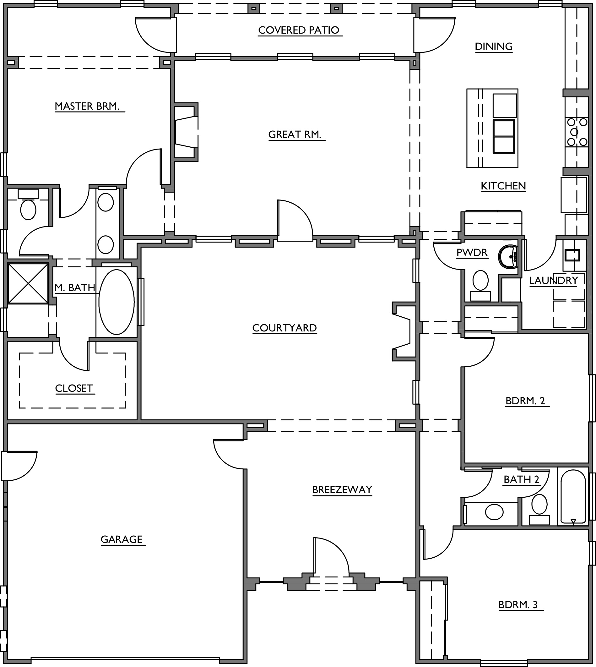 Mesquite courtyard homes floor plans miles turner for Www home plan